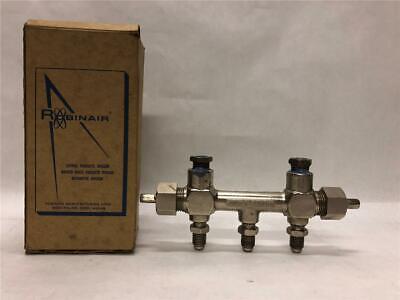 Robinair Manifold Forging Body Mueller Brass Co. Ctm2-7 Ctm2-12