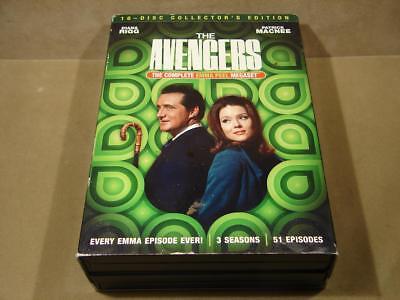The Avengers The Complete Emma Peel Megaset DVD 16 Disc Set