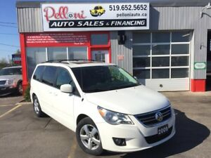 2009 Volkswagen Routan HIGHLINE|LEATHER|SUNROOF|NAVI|DUAL DVD