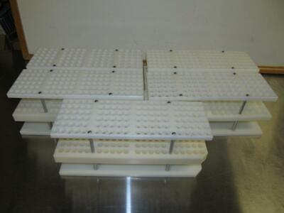 1 Biotage Test Tube Sample Vial Rack Tray Holder 96 Slot Longer Tube