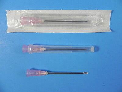 Hypodermic Needles Sterile Blister Luer Lock 18g X 1 12  100pcsbox