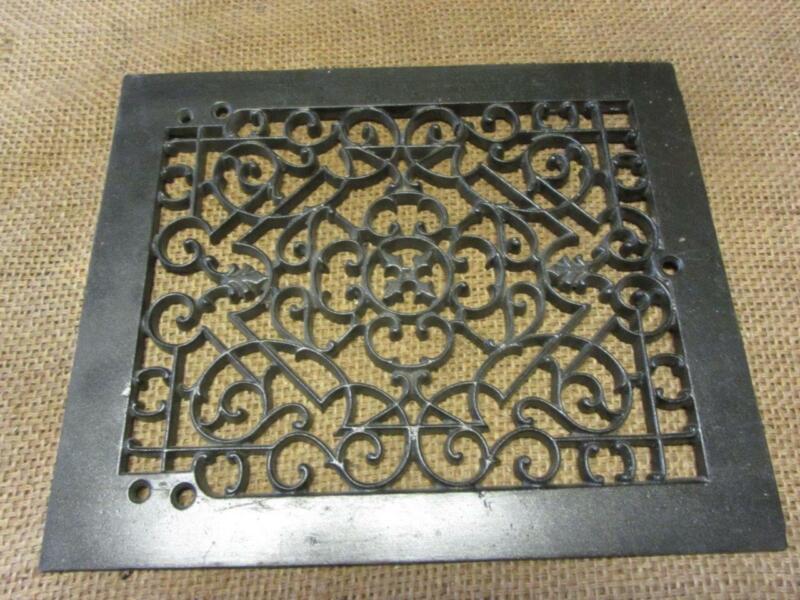 Vintage Cast Iron Register Grate > Antique Old Hardware Architectural 2985