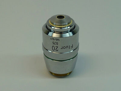 Nikon Fluor 20x0.75 1600.17 Microscope Objective Excellent Condition
