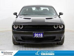 2018 Dodge Challenger SXT+, Black Top Pkg, Back Up Cam w/Park As