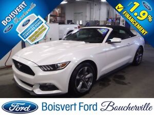2017 Ford Mustang V6 CONVERTIBLE  CUIR