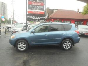 2006 Toyota RAV4 LIMITED / LOW KMS / LIKE NEW / SUNROOF / 4WD /