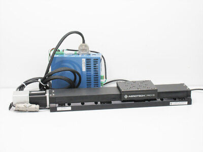 Aerotech Pro115 Pro115-05mm-300-uf Linear Stage Motor Ensemble Cp10 Controller