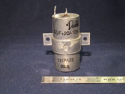 High Voltage 0.27uf 1000v Oil-filled Pulse Capacitor Laser Fusion Yag Ruby