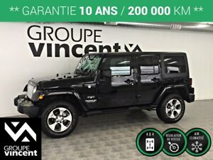 2017 Jeep Wrangler Unlimited SAHARA TRAIL RATED 4X4 **GARANTIE 1