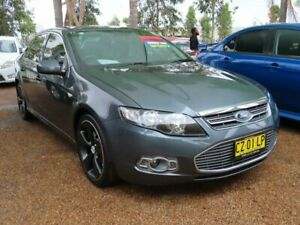 2012 Ford Falcon FG MkII G6 Limited Edition EcoBoost Grey 6 Speed Sports Automatic Sedan
