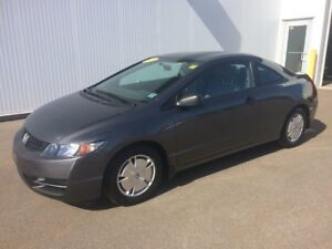 2009 Honda Civic Cpe DX-G LOW KMS ONLY  75000 Kms One Owner