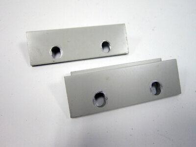 Set Hp 3.5 2u Rack Mount Shiny Medium Grey Agilent Test Equipment Wear