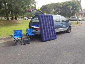 Toyota van for 7people,a year rego slip,bed