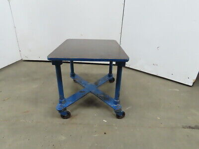 1 Thick Cast Iron Top 24x30-34x24 Welding Table Work Bench Wcasters