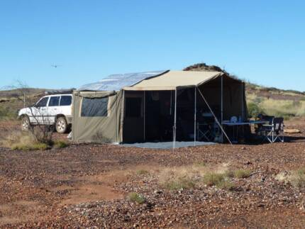 Follow Me Fitzroy offroad camper with Quad Bike racks - $26000 Churchlands Stirling Area Preview