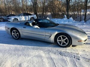 2002 Chevrolet Corvette Convertible Only 109500 km