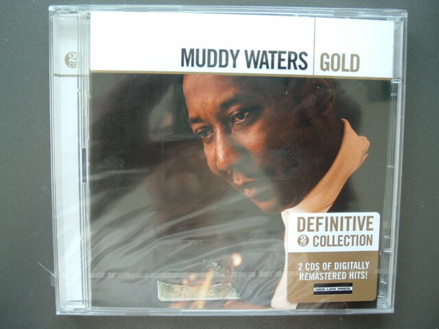 Muddy Waters - Gold, Definitive Collection, Neuware, 2 CD Set