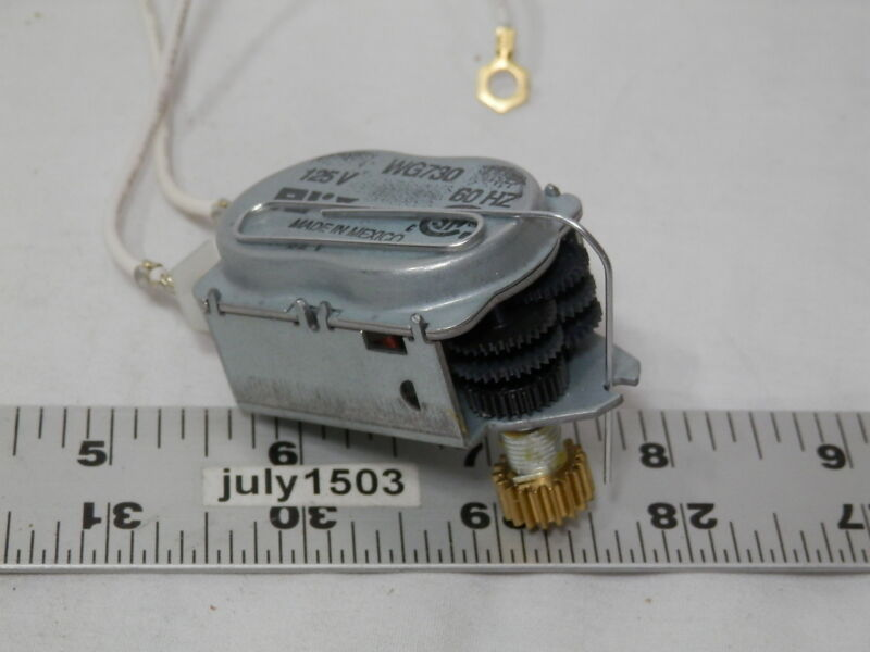 (1) NEW Intermatic 125v Timer Clock Motor WG730 Sprinkler Lawn Irrigation Time