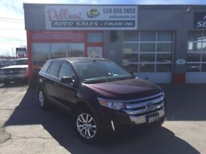 2011 Ford Edge LIMITED NAVIGATION/REMOTE START/PANO ROOF