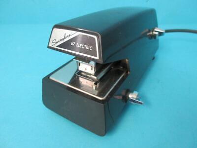 Awesome Black Swingline Electric Stapler Desktop Office 20 Sheet Heavy Duty 67