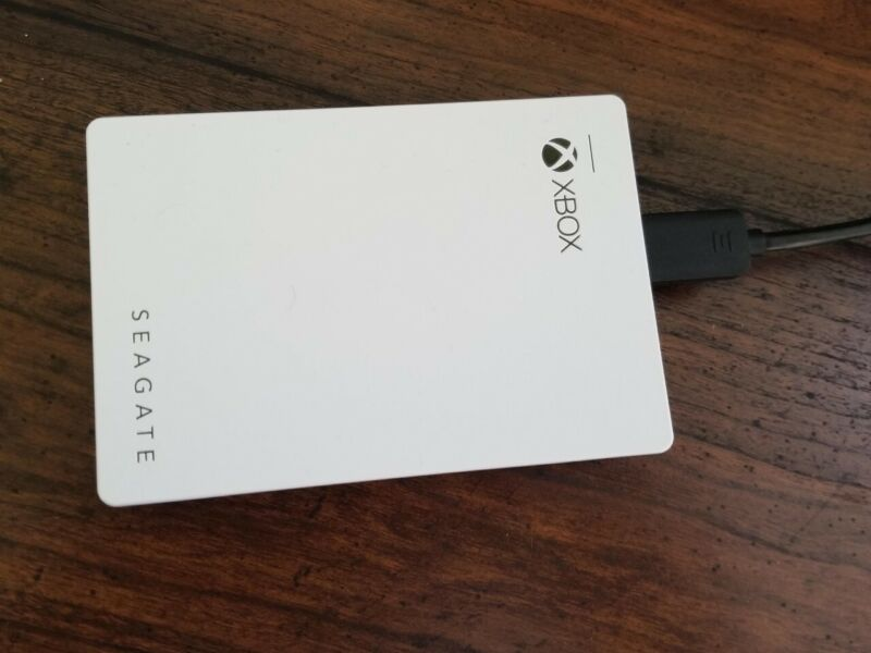 Seagate 4TB Game Drive for Xbox One - White