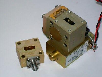 Ka Band 20-27 Ghz Gunn Oscillator 10dbm Mechanical And Electric Tuning 24.5 Ghz