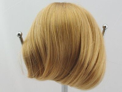 "American Girl Nellie Doll Wig size 10-11"" Goldend Brown Straight W014"