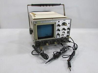 Bk Precision 30 Mhz Dual Trace Oscilloscope 1479b