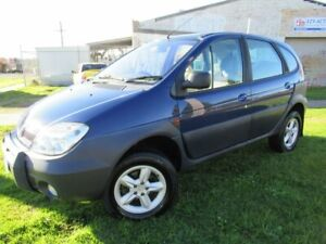 2003 Renault Scenic RX4 J64 Expression Blue 5 Speed Manual Hatchback Moorabbin Kingston Area Preview