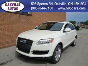 2007 Audi Q7 Premium/7 PASSENGER/LEATHER SUNROOF
