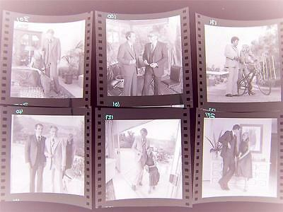 506W CALIFORNIA MENS FASHION 1970s Harry Langdon 6 Negative LOT w/rights