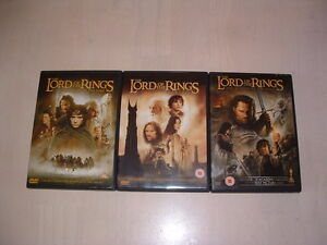 LORD-OF-THE-RINGS-TRILOGY-DVD-DOUBLE-DISCS-MINT-CONDITION