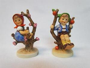 Hummel Apple Tree Boy 142 3/0 and Apple Tree Girl 141 3/0 TMK 5