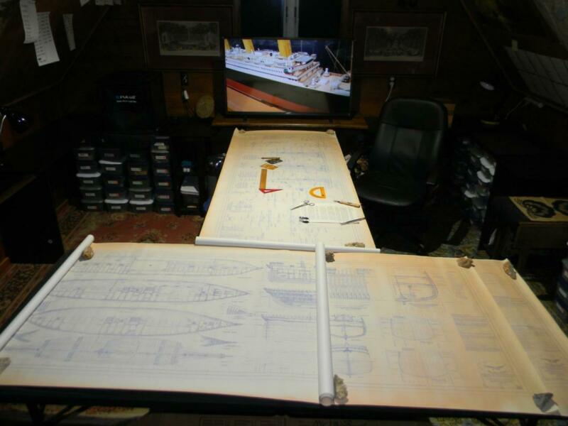 Rare Original Sea Gull Model Ship Plan LIGHTNING 1854 Unparalleled Detail Signed