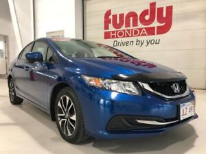 2015 Honda Civic Sedan EX w/Honda Lane Watch, $142.90 B/W LOW KM