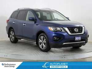 2019 Nissan Pathfinder SV Tech, 4x4, Navi, Back Up Cam, Heated S