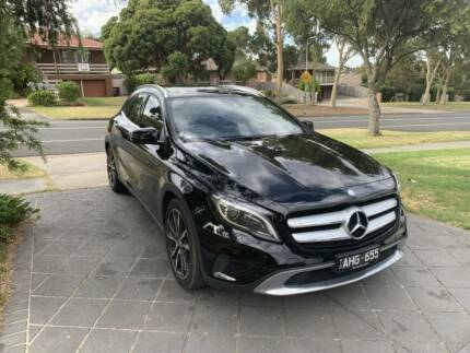 2015 (MY16) Mercedes-Benz GLA250 Black on Black Port Melbourne Port Phillip Preview