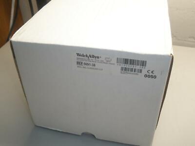 New Welch Allyn 5091-38 Wall Aneroid Sphygmomanometer W Cuff