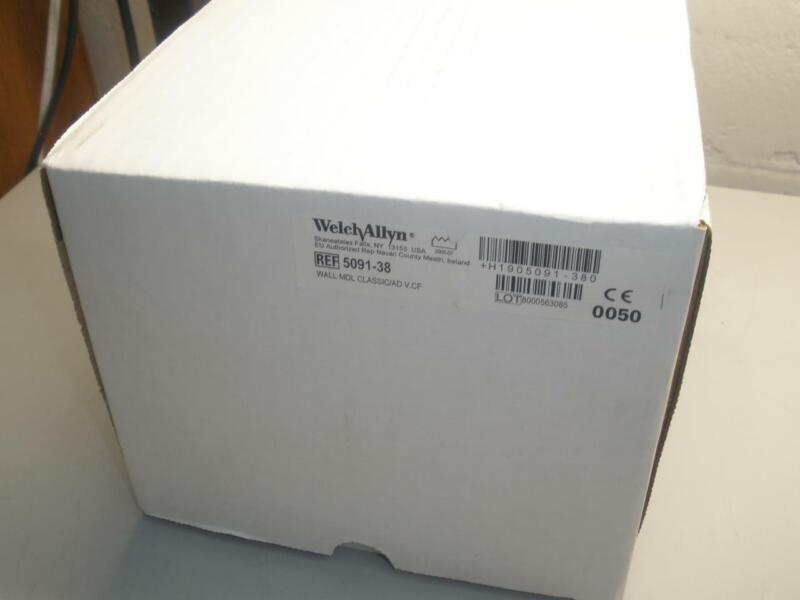NEW Welch Allyn 5091-38 Wall Aneroid Sphygmomanometer w/ Cuff