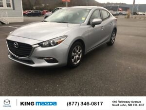 2017 Mazda Mazda3 GX! POWER WINDOWS! A/C! CLEAN CARPROOF** ONE O