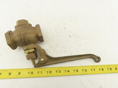 Lunkenheimer 1 Bronze 200 Class Steam Whistle