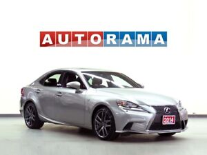 2014 Lexus IS 250 FSPORT PACKAGE LEATHER AWD