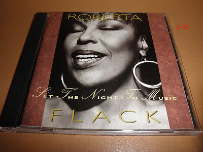 ROBERTA FLACK cd SET THE NIGHT TO MUSIC maxi priest duet Unforgettable Always (Maxi Priest Set The Night To Music)
