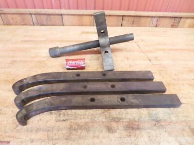 Large Vintage Gear Pulley Puller Hit Miss Steam Engine Large Missing Parts 125lb