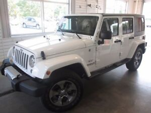 2017 Jeep Wrangler Unlimited UNLIMITED + NAV + GR. ELECT. +A/C +