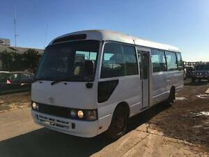 1997 Toyota Coaster 22 Seater Bus 1HZ Diesel Engine Motorhome Karratha Roebourne Area Preview