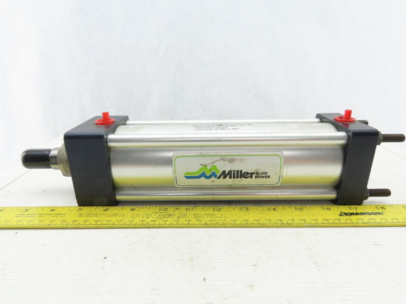 """Miller 2-3/4"""" Bore 7"""" Stroke Double Acting Air Cylinder"""