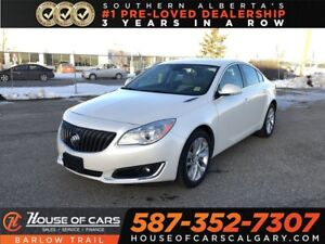 2014 Buick Regal Turbo / Back up Camera / Heated leather seats