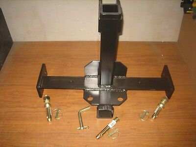 3 Point Combo Trailer Hitch Quick Hitch Compatible With All Pins Gloss Black