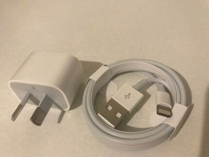 BRAND NEW GENUINE ORIGINAL APPLE IPHONE 7 chargers
